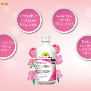 Công dụng Nước Collagen Nature's Way Beauty Collagen Liquid 500ml