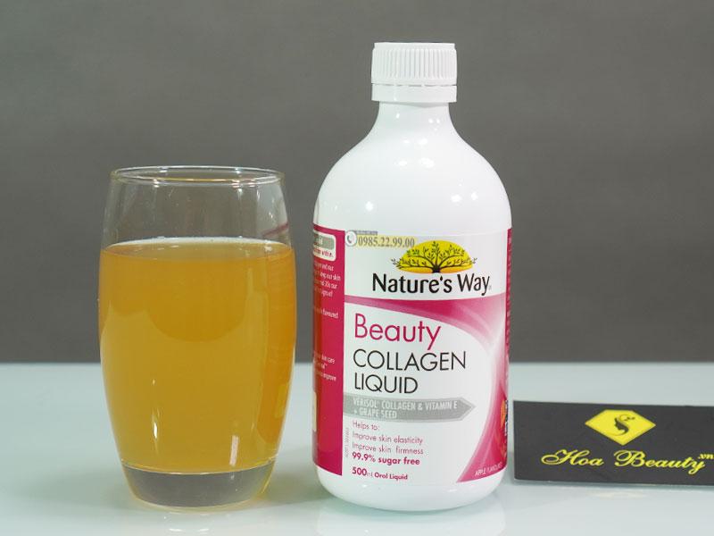 Collagen dạng nước Nature's Way Beauty Collagen Liquid 500ml hàng nội địa Úc