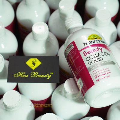 Collagen Natures Way liquid dạng nước 500ml