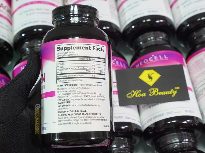 Uống viên bổ sung Collagen Super Neocell có gây tác dụng phụ không