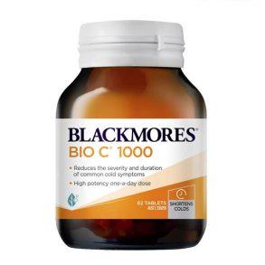 Viên uống bổ sung Vitamin C bioc Blackmores hàng chính hãng Úc 62 Viên