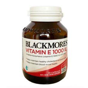 Viên uống vitamin E 30 viên Blackmores hàng chính hãng Úc