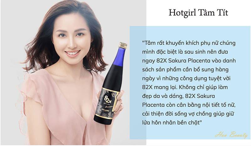 Phản hồi khách hàng về collagen 82x 120000mg Premium 500ml Mashiro