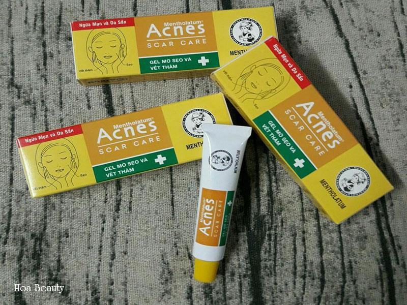 Kem trị thâm Acnes chất gel trong suốt, không gây bết dính