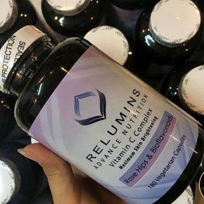 Viên uống trắng da Relumins Vitamin C Complex 180 viên của Mỹ