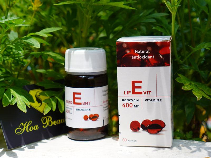 Vitamin e đỏ zentiva 400mg chính hãng Nga