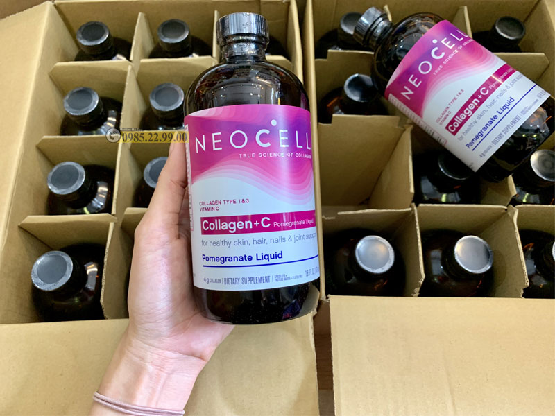 Sản phẩm Collagen Neocell dạng nước Pomegranate Liquid