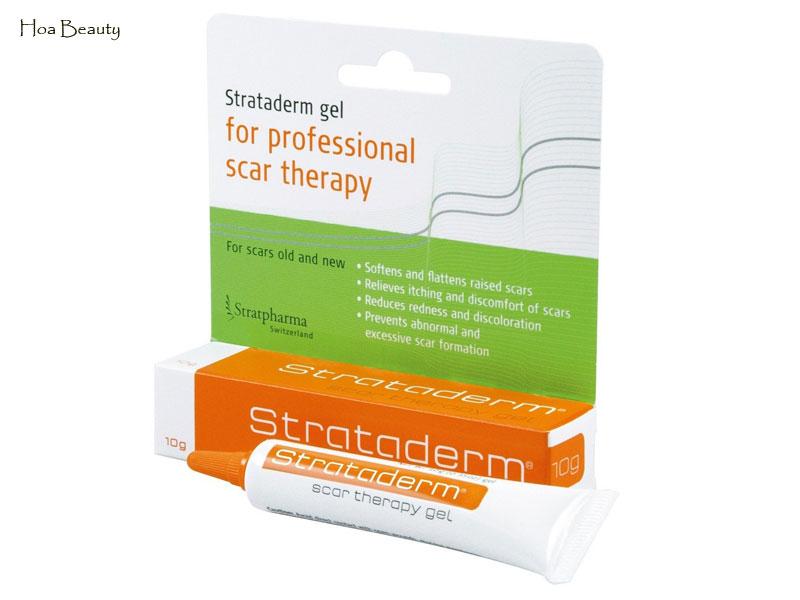 Strataderm là gel trị của Thuỵ Sĩ, thuộc thương hiệu Stratapharma