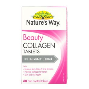 Beauty Collagen Tablets Natures Way 60 viên