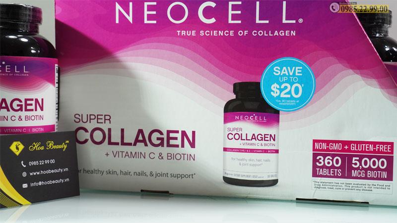 Collagen Neocell chính hãng Mỹ