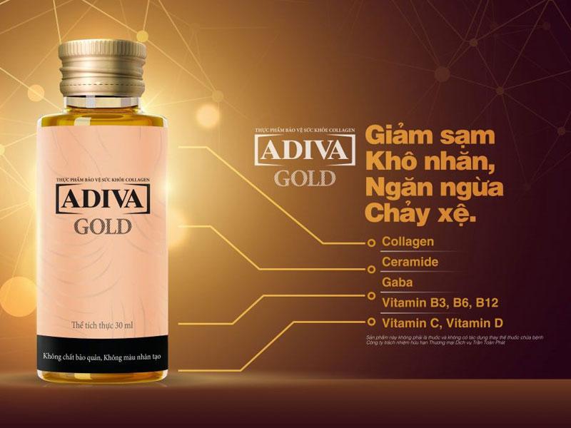 Collagen nước Adiva Gold