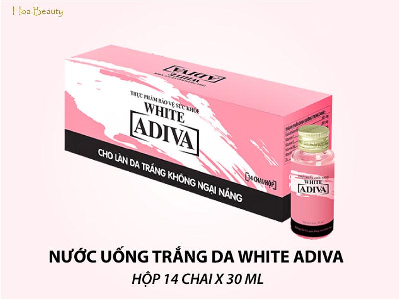 collagen nước Adiva White