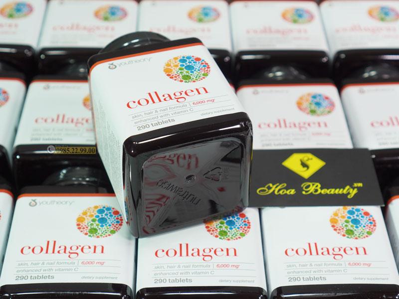 Collagen Youtheory 290 Viên type 1 2 & 3 chính hãng Mỹ