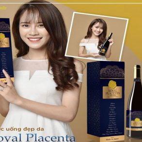 Nước Uống Đẹp Da Collagen Royal Placenta 500000mg 720ml Nhật Bản