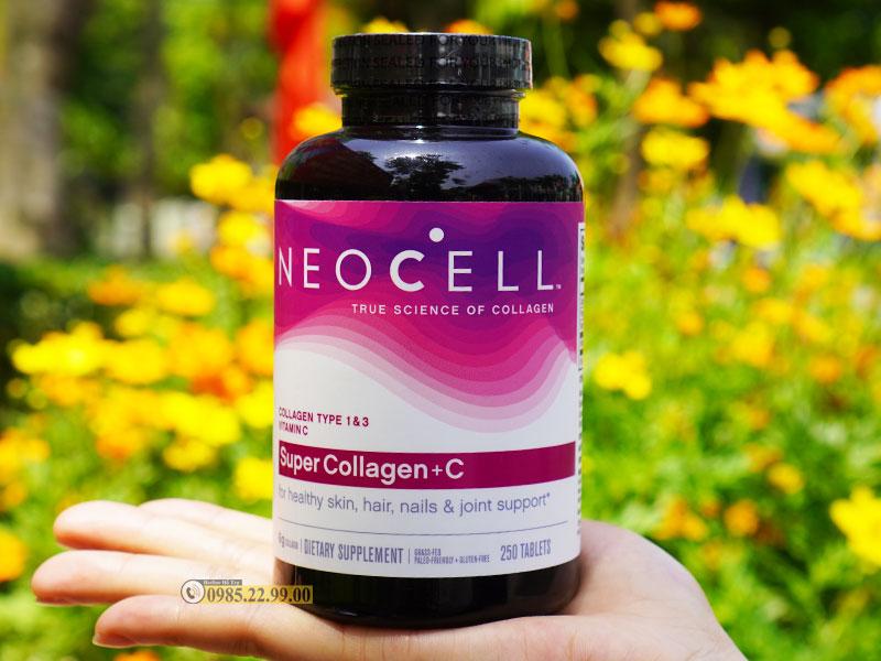 Sản phẩm Super Collagen C+ 250 viên của Neocell