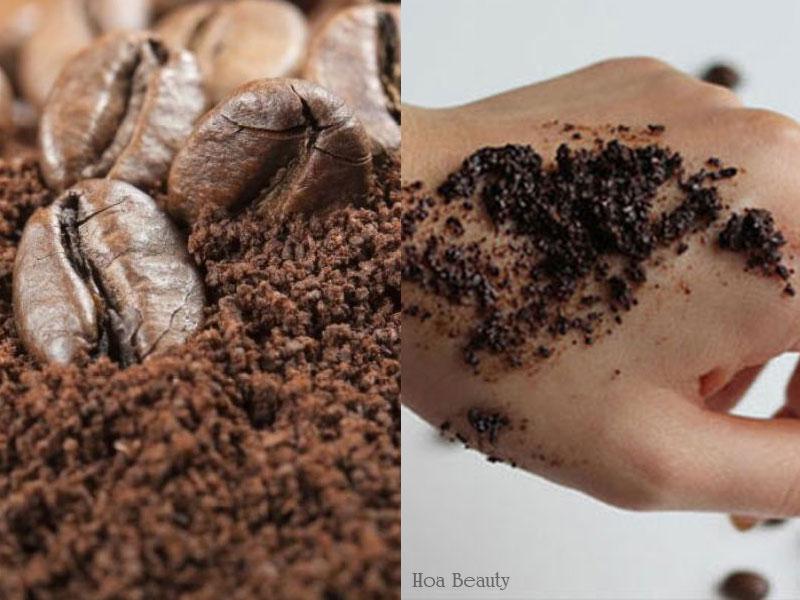 Làm trắng da tay từ công thức bã cà phê