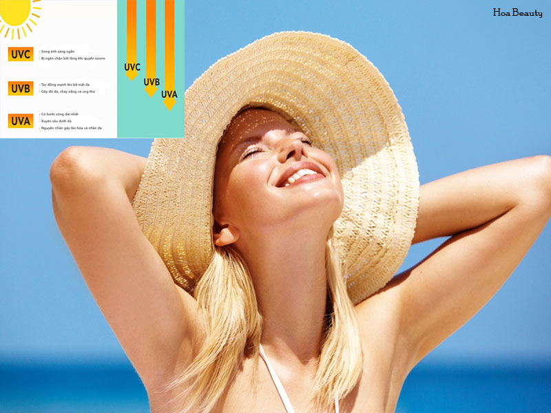 Trước khi làm trắng da toàn thân cần hạn chế tiếp xúc với ánh nắng mặt trời