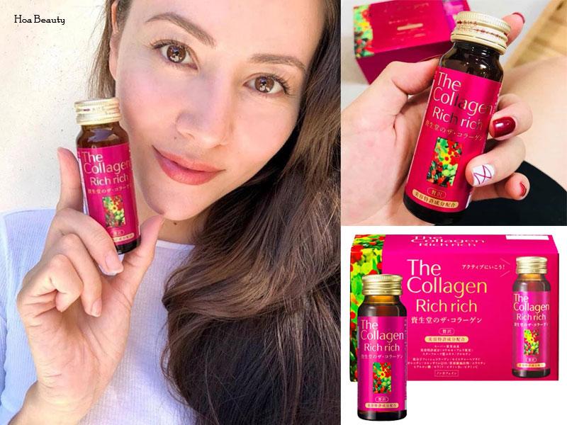 Collagen Shiseido Rich Rich giúp da tươi trẻ, dưỡng ẩm tốt