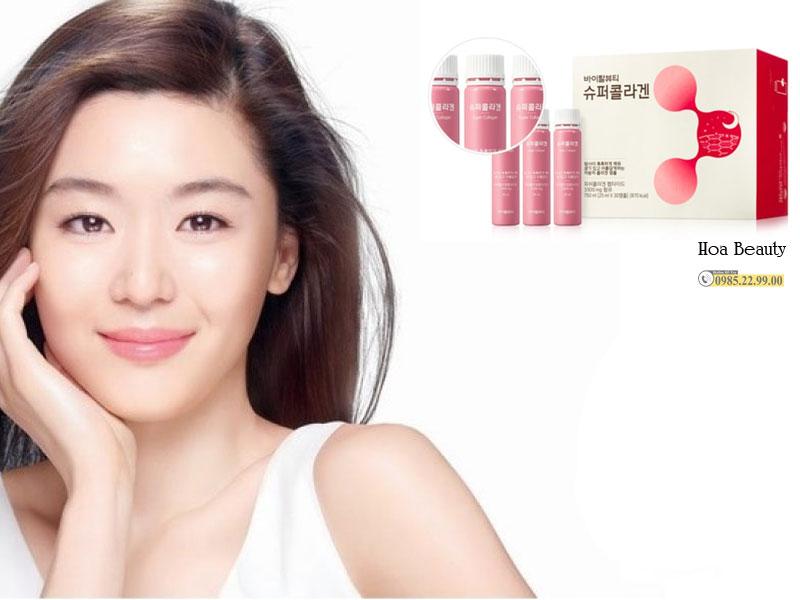 Collagen VB được sản xuất bởi tập đoàn Amore Pacific - Tập đoàn danh tiếng số 1 Hàn Quốc