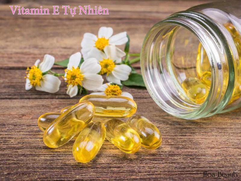Dưỡng chất vitamin E có nhiều tác dụng tuyệt vời cho làn da