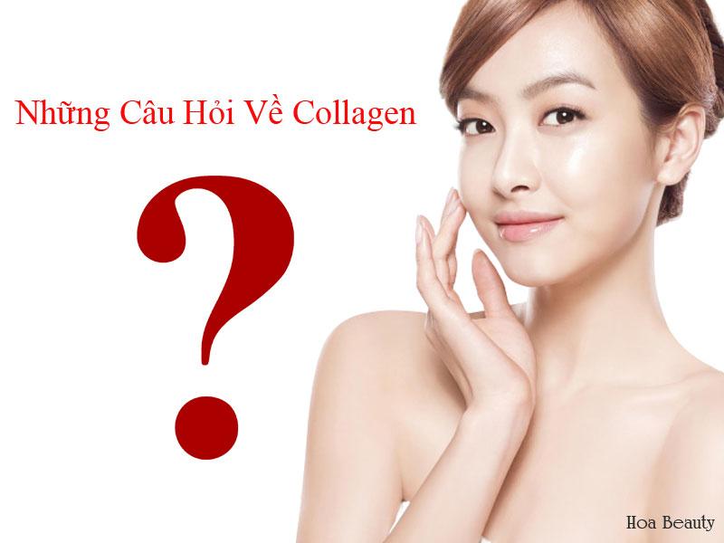 Những câu hỏi nhiều người quan tâm về collagen