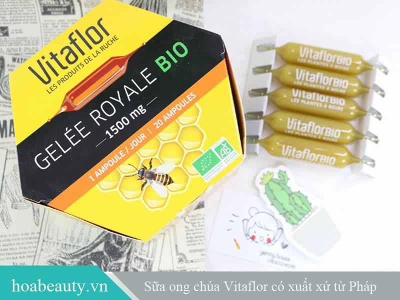 Sữa ong chúa Vitaflor thuộc thương hiệu Vitaflor nổi tiếng tại Pháp