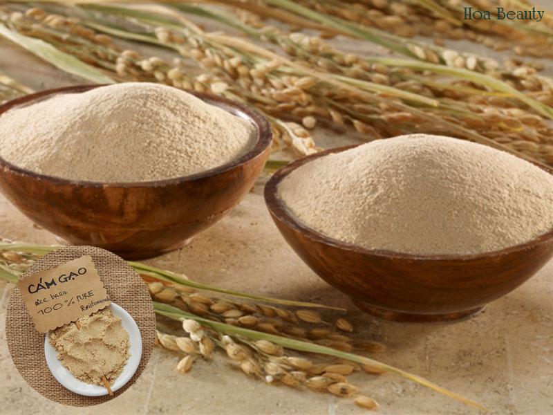 Dưỡng trắng tại nhà bằng cám gạo không chỉ giúp da trắng hồng rạng rỡ mà còn có chi phí rất thấp