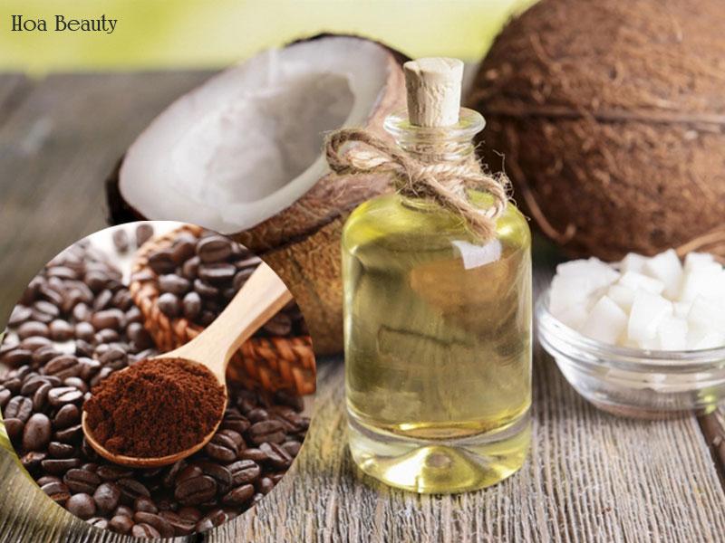 Cà phê, dầu dừa là phương pháp dưỡng trắng tại nhà đơn giản cho làn da săn mịn