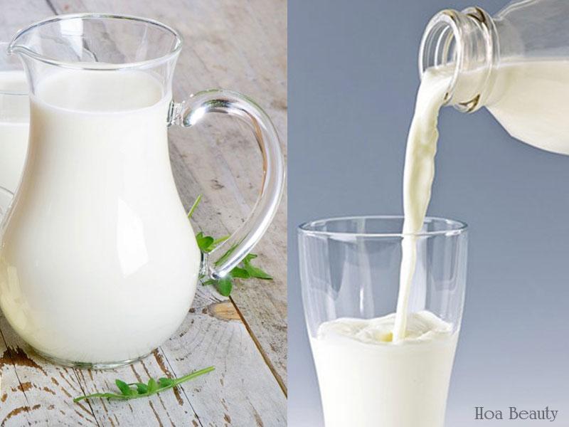 Sữa tươi là thành phần không thể thiếu trong nhiều phương pháp tắm trắng hiện nay