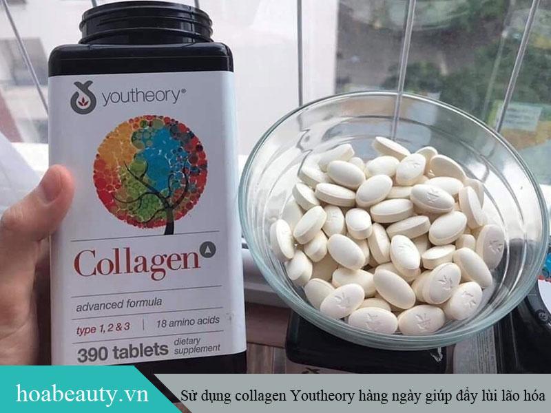 Sử dụng Collagen Youtheory đều đặn mỗi ngày để giúp cơ thể và làn da đẩy lùi lão hoá
