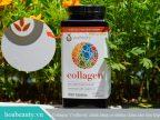 Trên thân của Collagen Youtheory sẽ có những lỗ nhỏ li ti, tránh việc xé rách bao bì và làm giả mã vạch