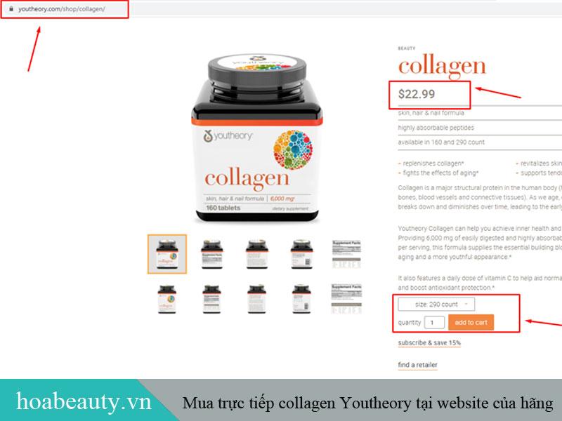 Bạn có thể mua hàng tại website chính thức của hãng để đảm bảo nguồn hàng chất lượng.