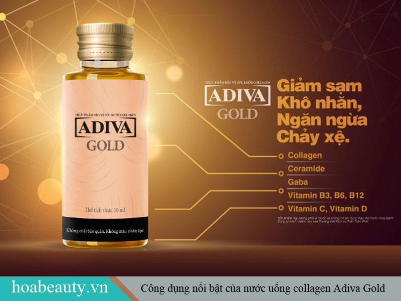 Những công dụng nổi bật của collagen Adiva Gold
