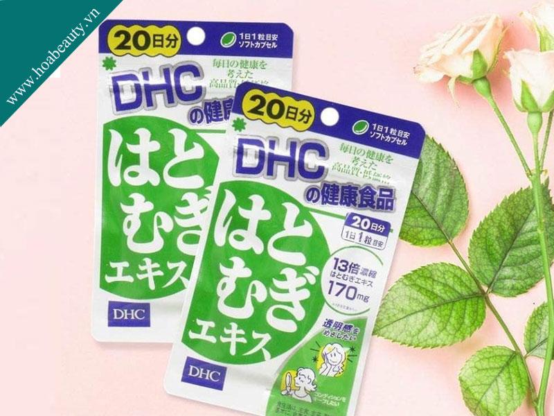 Viên uống trắng da DHC của Nhật Bản mẫu mới
