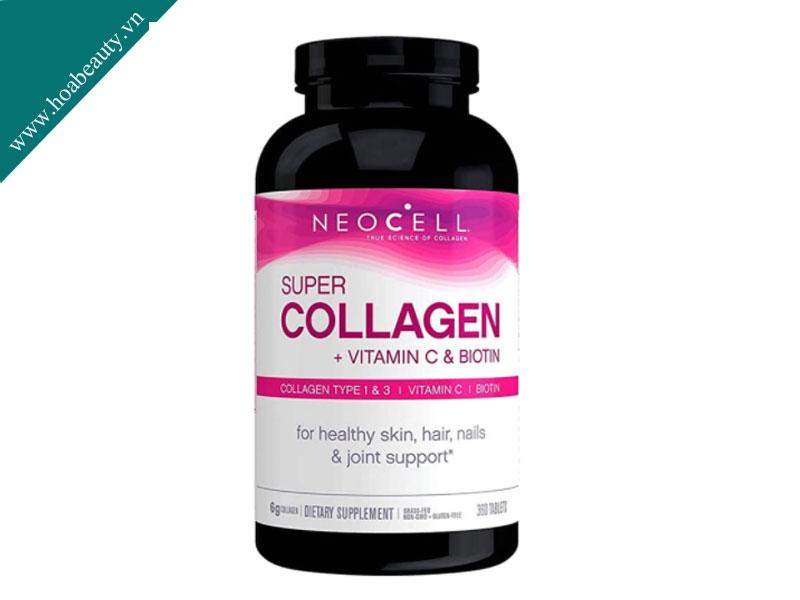Collagen Neocell 360 viên luôn nằm trong top những collagen tốt nhất hiện nay