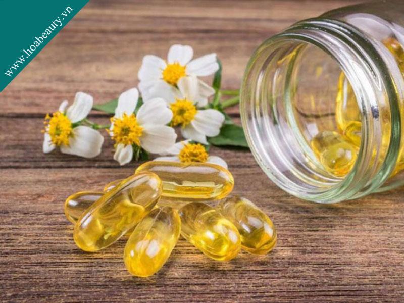 Tinh dầu hoa anh thảo giàu axit béo đặc biệt là omega 6 và axit gamma linolenic (GLA).