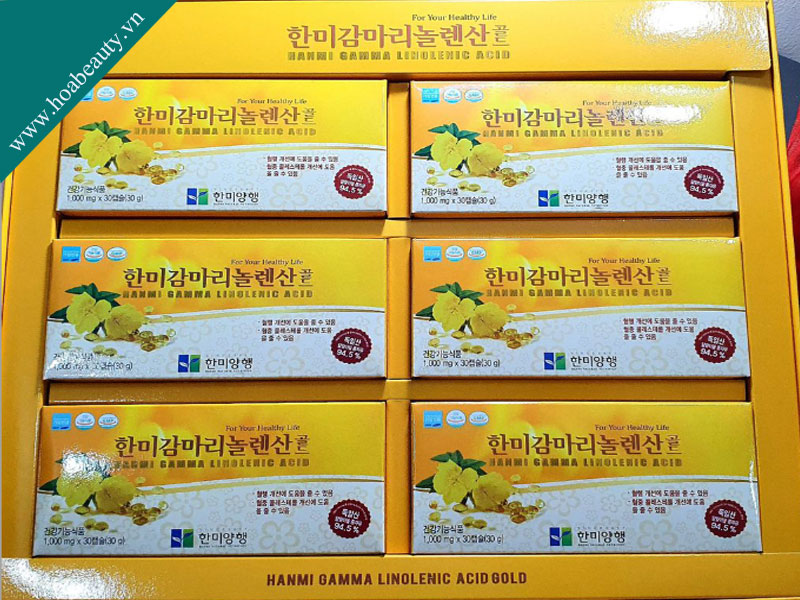 Tinh dầu hoa anh thảo Hàn Quốc tuy có ít sản phẩm nhưng vẫn được đánh giá cao
