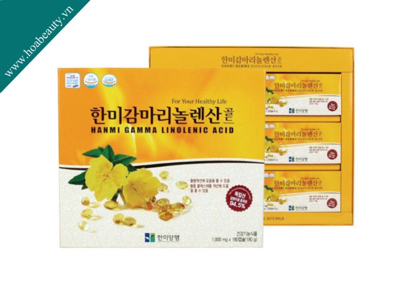Tinh dầu hoa anh thảo Hanmi Gamma Linolenic Acid của Hàn là sản phẩm cần thiết cho phụ nữ
