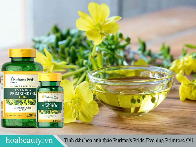 Tinh dầu hoa anh thảo Puritan's Pride Evening Primrose Oil phù hợp cho độ tuổi từ 20 trở lên