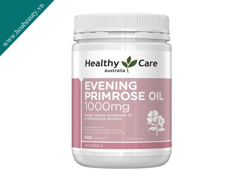 Tinh dầu hoa anh thảo Healthy Care giúp cân bằng hormone và điều trị các bệnh ngoài da