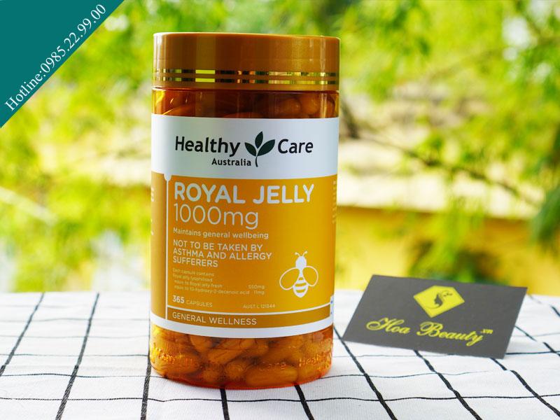 Sữa ong chúa Healthy Care được là sản phẩm hỗ trợ sức khỏe cho cả nam và nữ