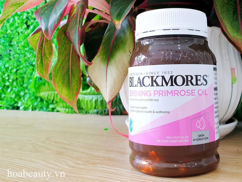 Tinh dầu hoa anh thảo Blackmores của Úc là sản phẩm được nhiều chị em tin dùng