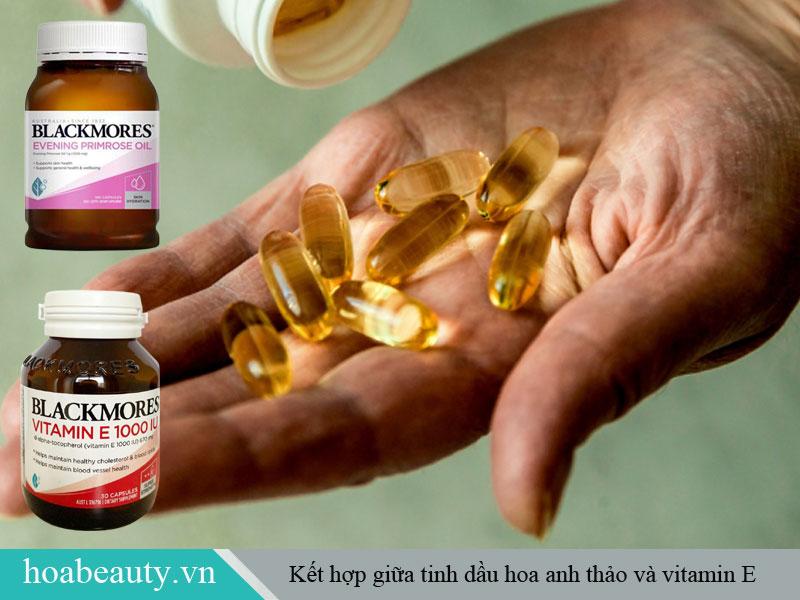 Uống tinh dầu hoa anh thảo và Vitamin E có tác dụng giảm đau ngực định kỳ