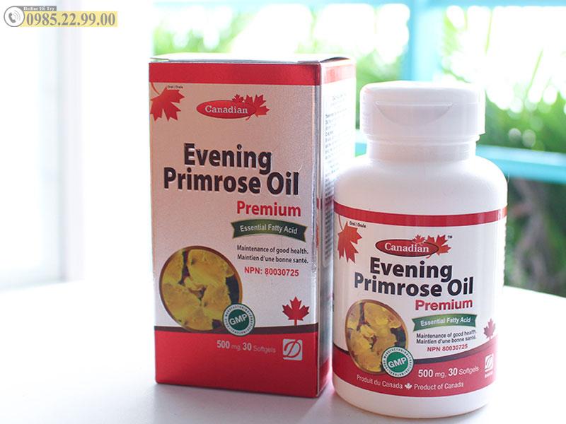 tinh dầu hoa anh thảo David Health Evening Primrose mẫu mới