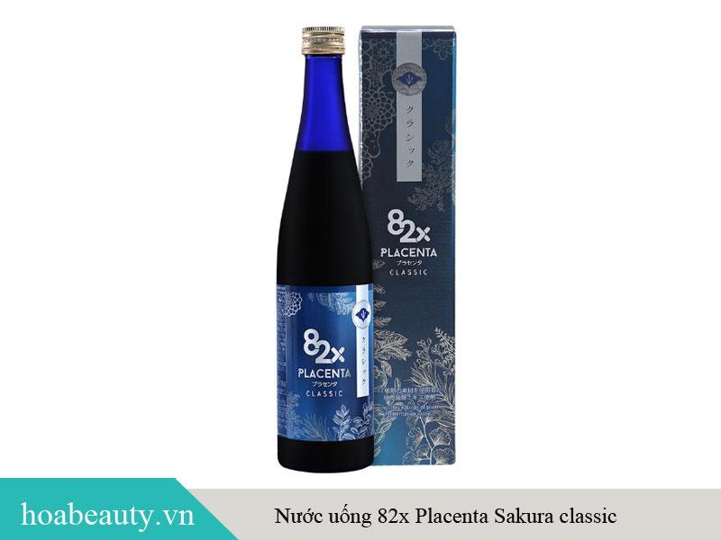 Sản phẩm nước uống Placenta 82X Classic