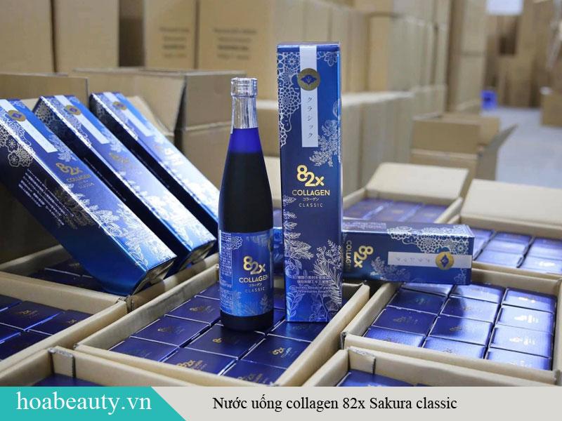 Sản phẩm nước uống Collagen 82X Classic