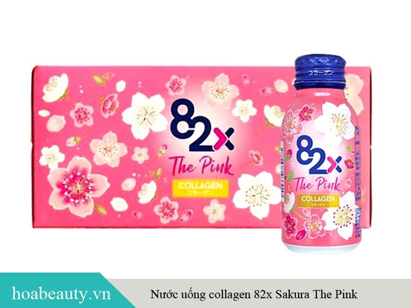 Sản phẩm nước uống 82X The Pink Collagen