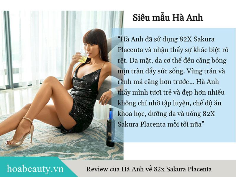Review của các sao Việt về sản phẩm Collagen 82X