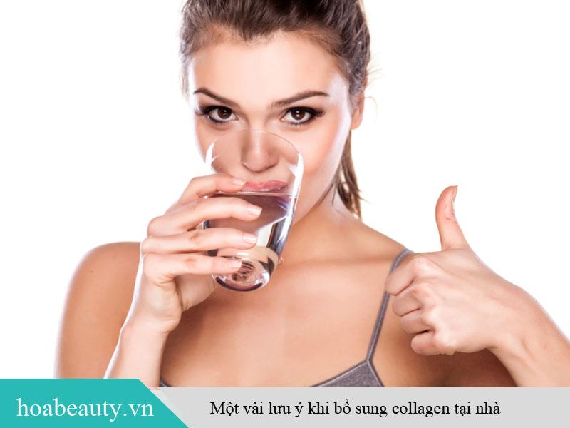 Những lưu ý khi bổ sung collagen