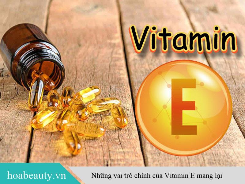 Vai trò của vitamin e mang lại
